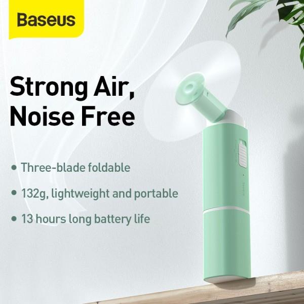 Quạt cầm tay xếp gọn kiêm sạc dự phòng Baseus Square Portable Folding Fan