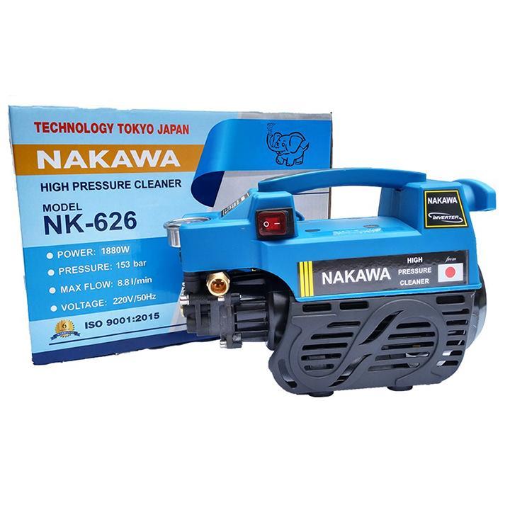 Máy xịt rửa đa năng Nakawa 1880w _ Máy rửa xe gia đình