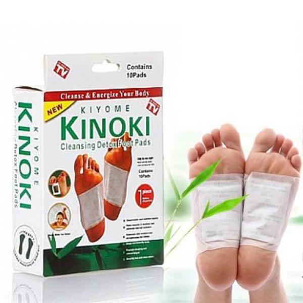 Miếng dán chân khử độc tố KInoki Nhật Bản