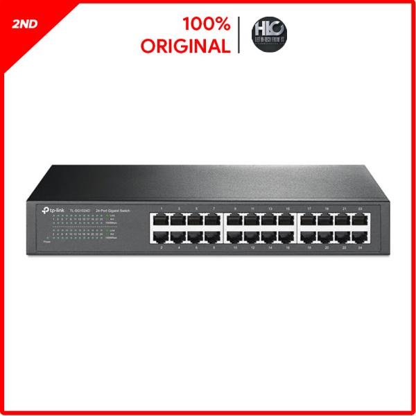 Bảng giá Switch 24 Port 1G TP-Link TL-SG1024D đã qua sử dụng Phong Vũ