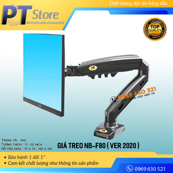 Bảng giá Giá treo màn hình NB-F80 ( Phiên bản 2020 ) 3-9KG Phong Vũ
