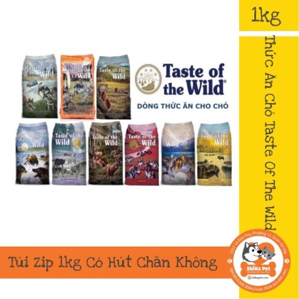 Thức Ăn Chó Taste Of The Wild 1Kg(Túi Zip)