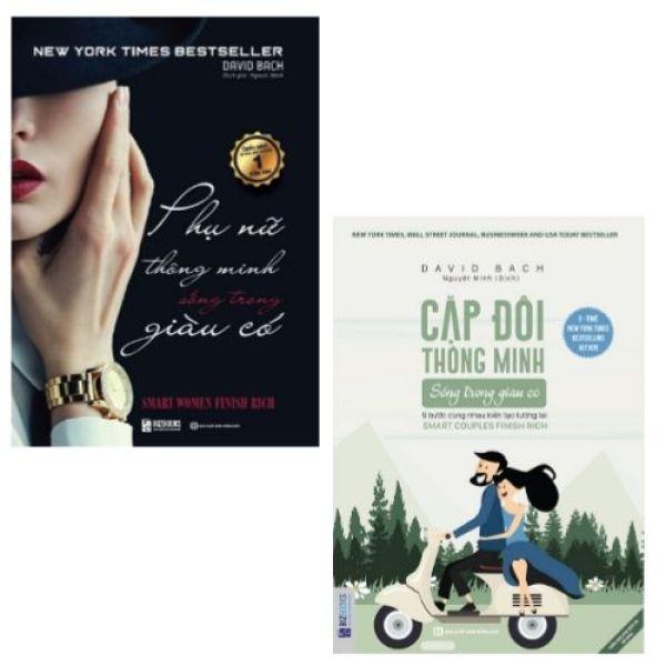 Bộ sách - Cặp Đôi Thông Minh Sống Trong Giàu Có - 9 Bước Cùng Nhau Kiến Tạo Tương Lai + Phụ Nữ Thông Minh Sống Trong Giàu Có (tặng kèm bút viết cực cute)