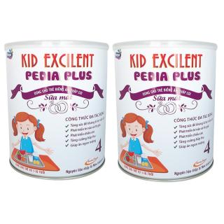 [combo 2 lon] Sữa mát cho trẻ biếng ăn tăng cân điều đặng Kid Excilent lon 900g thumbnail