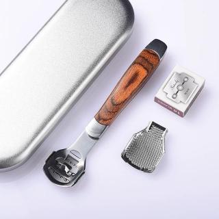 Dụng Cụ Mài, Chà Gót Chân Tẩy Da Chết Inox Cao Cấp + Tặng kèm 10 dao cạo thay thế thumbnail