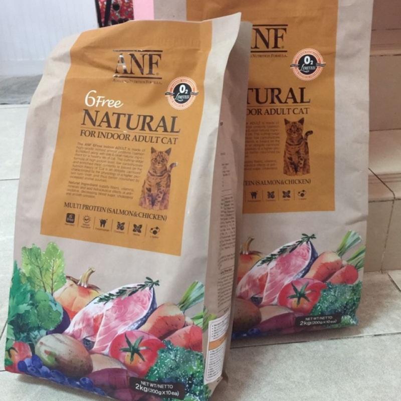 2kg ANf thức ăn organic nhập khẩu Hàn Quốc cho mèo trưởng thành, chất lượng đảm bảo an toàn đến sức khỏe người sử dụng, cam kết hàng đúng mô tả
