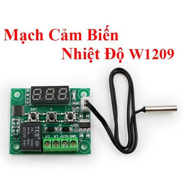 Mạch Cảm Biến Nhiệt Độ W1209 12v