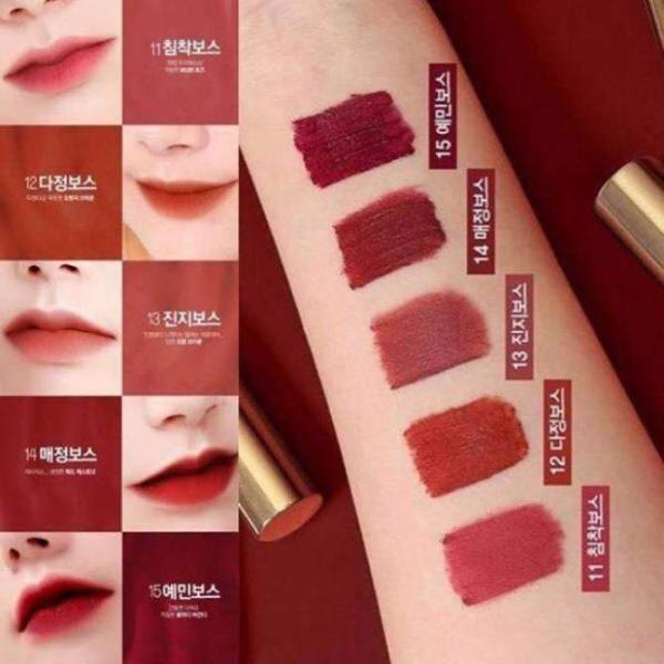 Son kem Bbia Last Velvet Lip Tint Version 3.5