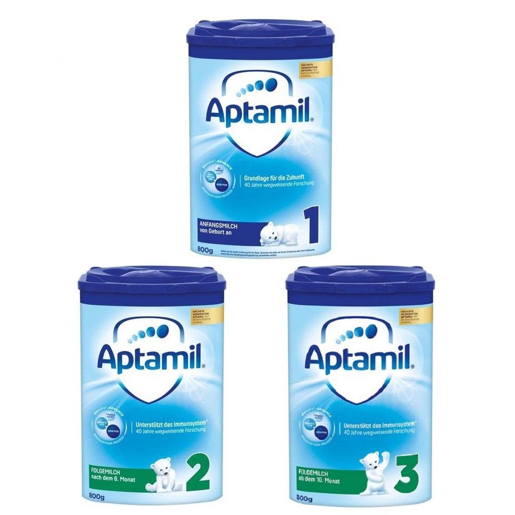 Sữa Aptamil Đức số 1 900g Nhập Khẩu (0-6 tháng)