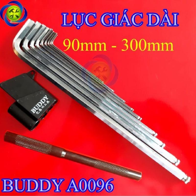 Bộ lục giác dài Buddy A0096 90mm-300mm