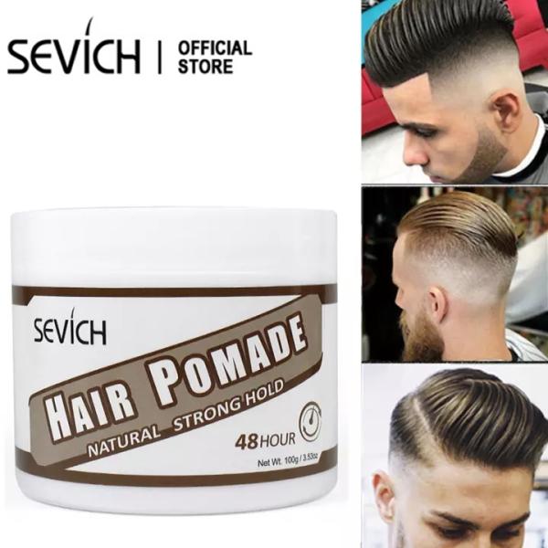 Sáp Vuốt Tóc Nam Pomade SEVICH 100g Classic Pomade tạo kiểu tóc Giữ Nếp Lâu giá rẻ