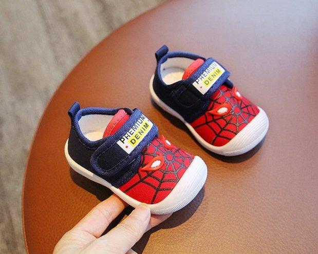 Giày tập đi họa tiết gấu cho bé trai và bé gái giá rẻ