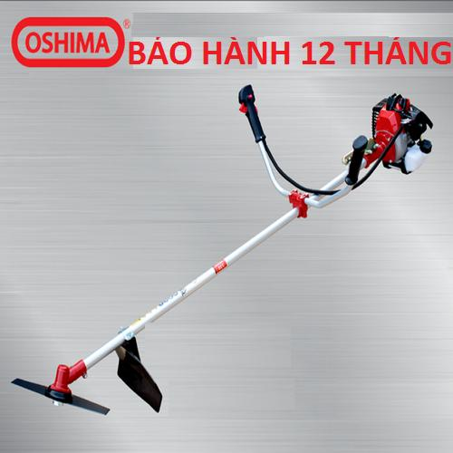 Máy Cắt Cỏ 2 Thì Oshima 330 Bạc 900W