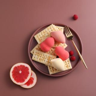 Berlala Beauty Mút trang điểm dùng tán kem nền BLL01 - Watermelon Color 4
