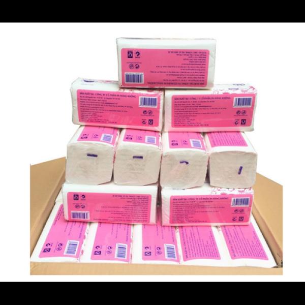 Giá bán Combo 1 hộp giấy rút lụa 300 tờ cao cấp siêu dai