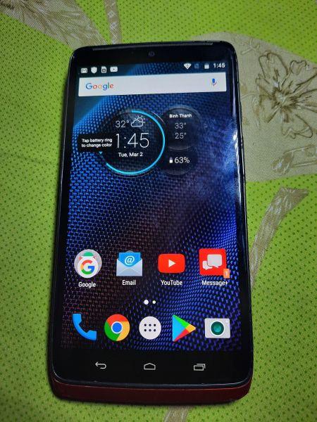 Điện thoại Motorola Droid Tubor LTE(3/32gb) Cũ