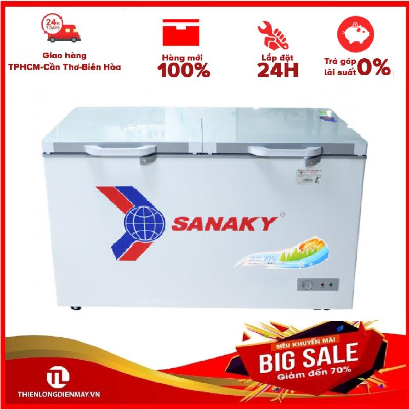 Tủ đông Sanaky VH-3699A2K - 2 CÁNH,1 NGĂN ĐÔNG,240 LÍT