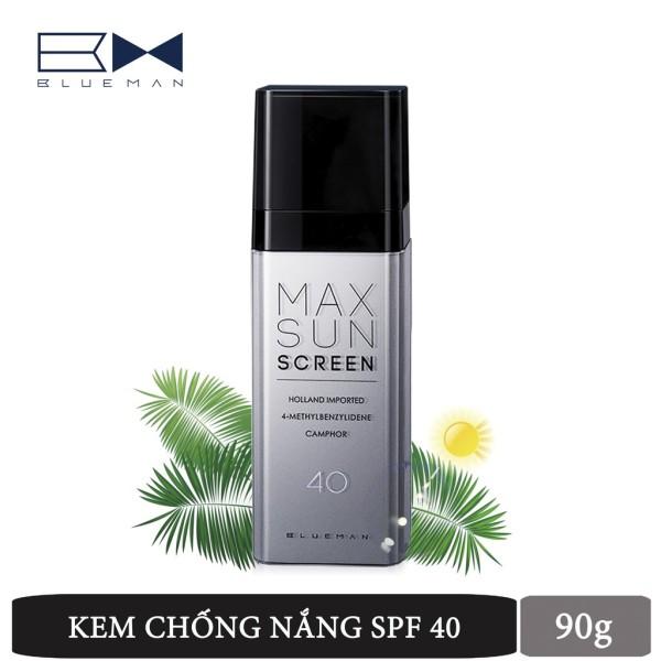 Kem chống nắng Blueman dưỡng ẩm kiềm dầu cho nam 90g