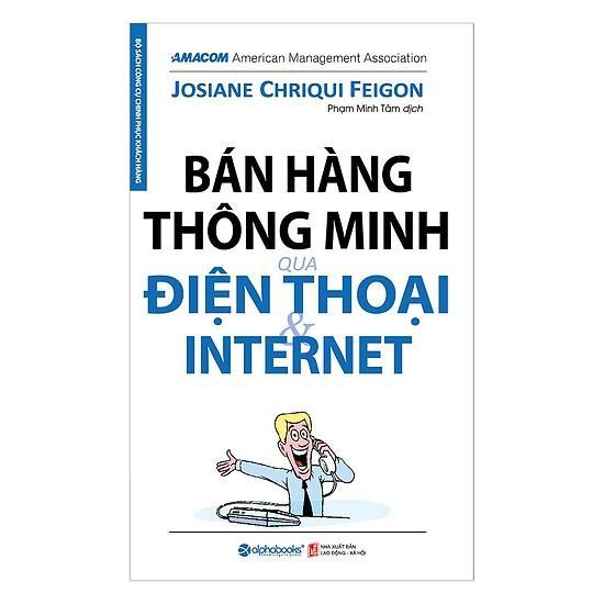 Sách - Bán Hàng Thông Minh Qua điện Thoại Và Internet Đang Khuyến Mại Khủng
