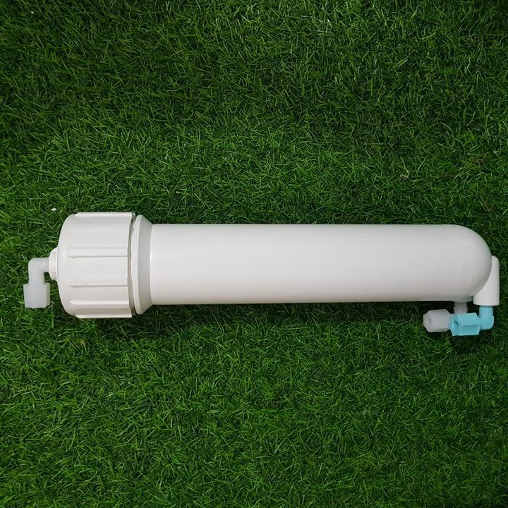 Combo vỏ màng lọc nước ro + 1 van 1 chiều + 2 cút vỏ màng nhập khẩu - sản phẩm dùng cho tất cả các máy lọc nước ro trên thị trường