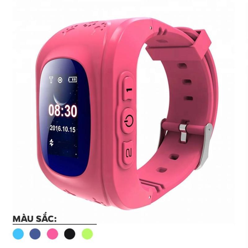 Nơi bán Đồng hồ định vị trẻ em sử dụng SIM, nút bấm gọi khẩn cấp, GPS (Hồng) 1000002153