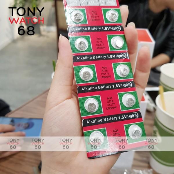 Nơi bán Pin Đồng Hồ Đeo Tay , Pin Cúc Áo 1K Alkaline Battery Loại Nhỏ 1.5V Ag4 377A Cx177 Lr626W