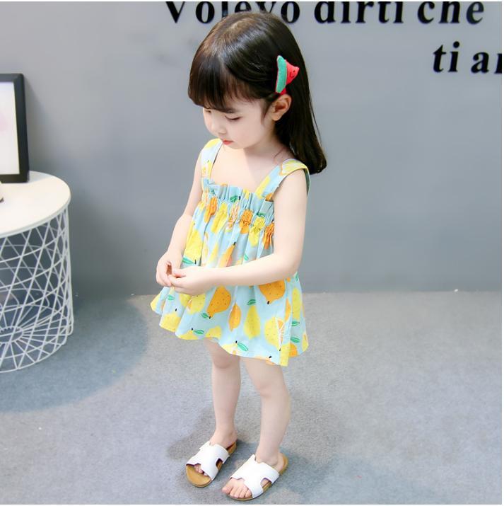 Giá bán [Kho buôn] Váy hè cho bé gái