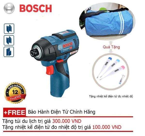 Máy vặn vít dùng pin Bosch GDR 12V-EC + Quà tặng balo du lịch
