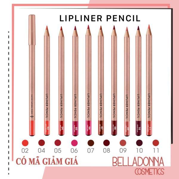 [Có Mã Giảm Giá][Đủ Bảng Màu, Mẫu Mới 2019] Chì Kẻ Viền Môi Vacosi Lipliner Pencil tốt nhất
