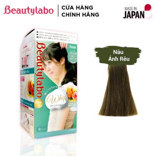 Thuốc nhuộm tóc tạo bọt Beautylabo 125ml Whip Hair Color Nhật Bản - Màu Nâu Ánh Rêu thumbnail
