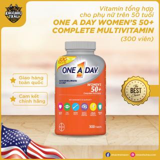 [Chính hãng] Vitamin Tổng Hợp Cho Nữ Trên 50 Tuổi One A Day Women S 50+ Complete Multivitamin 300 Viên thumbnail
