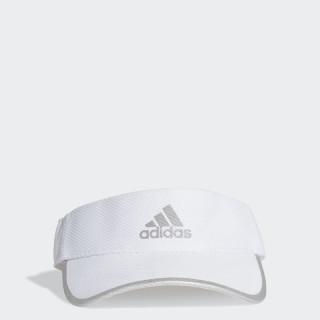 adidas RUNNING Mũ lưỡi trai nửa đầu AEROREADY Runner Unisex Màu trắng FK0839 thumbnail