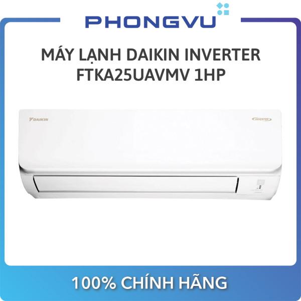[Trả góp 0%]Máy lạnh Daikin Inverter 1 HP FTKA25UAVMV - Bảo hành 12 tháng