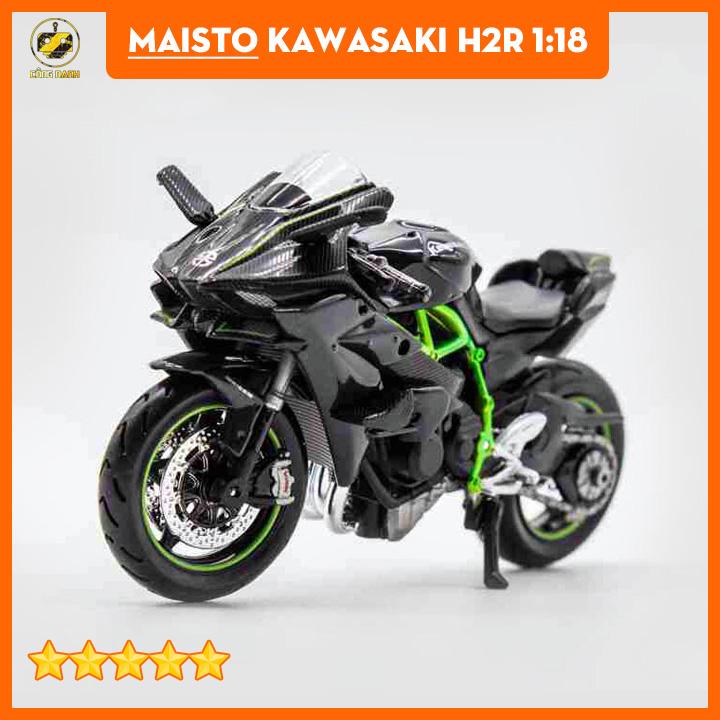 Mô hình xe Kawasaki H2R - Mô Hình Xe Moto
