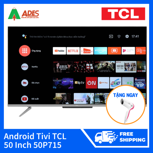 Bảng giá Android Tivi TCL 50 Inch 50P715