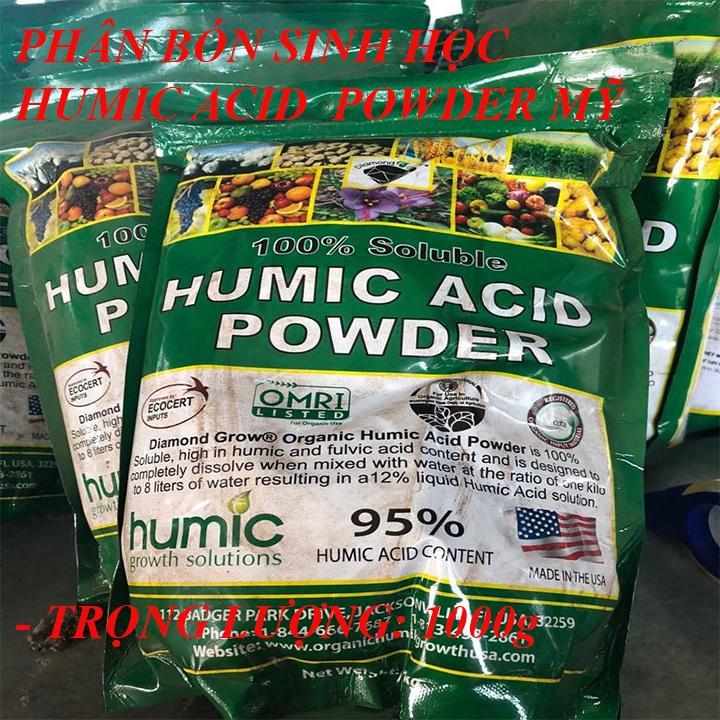 phân bón humic làPhân Hữu Cơ Humic Acid Powderbón vào đất có tác dụng kích thích sự phát triển của hệ rễ để hấp thu chất dinh dưỡng tốt
