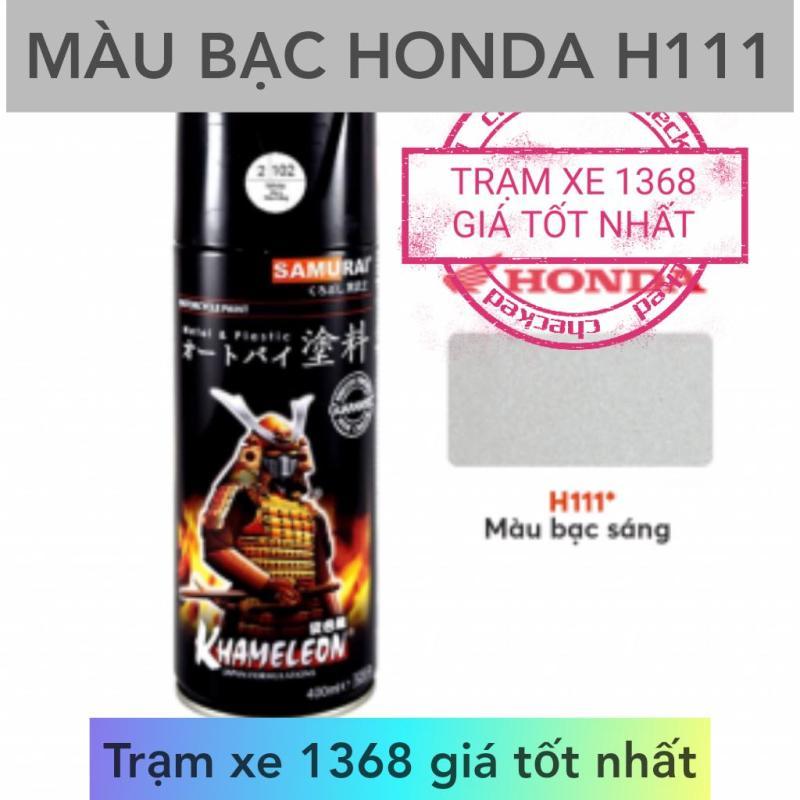 SƠN SAMURAI MÀU BẠC SÁNG HONDA H111