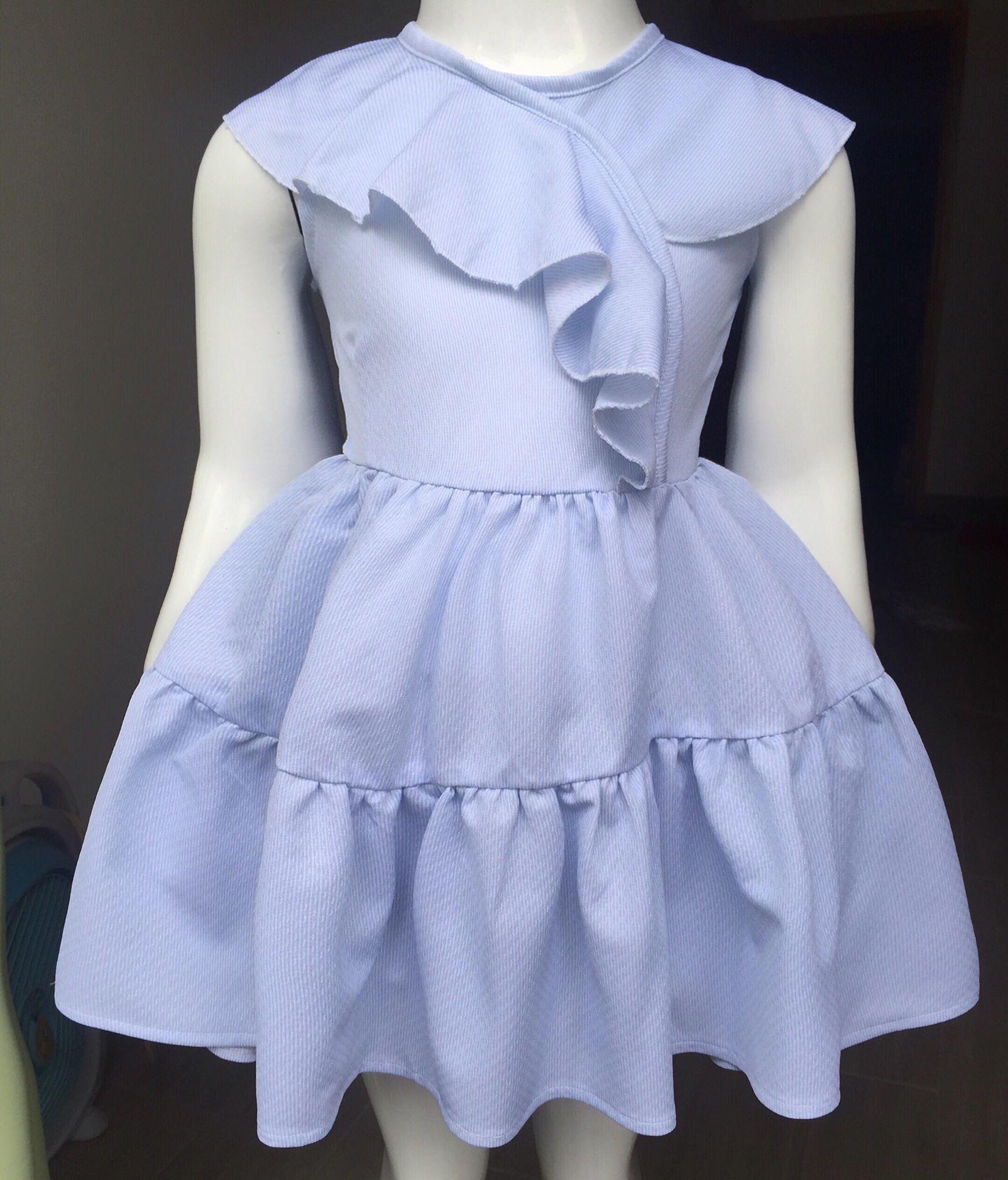 Giá bán Đầm bèo nhúng cực xinh cho bé gái 12-22kg