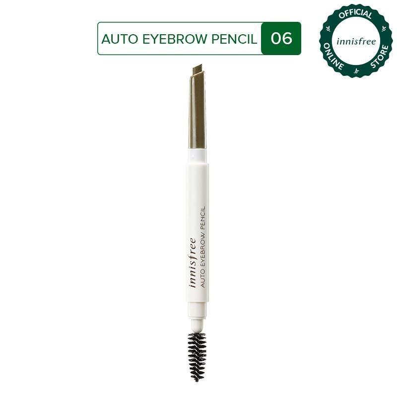 Chì kẻ chân mày Innisfree Auto Eyebrow Pencil Urban Brown 0.3g #6