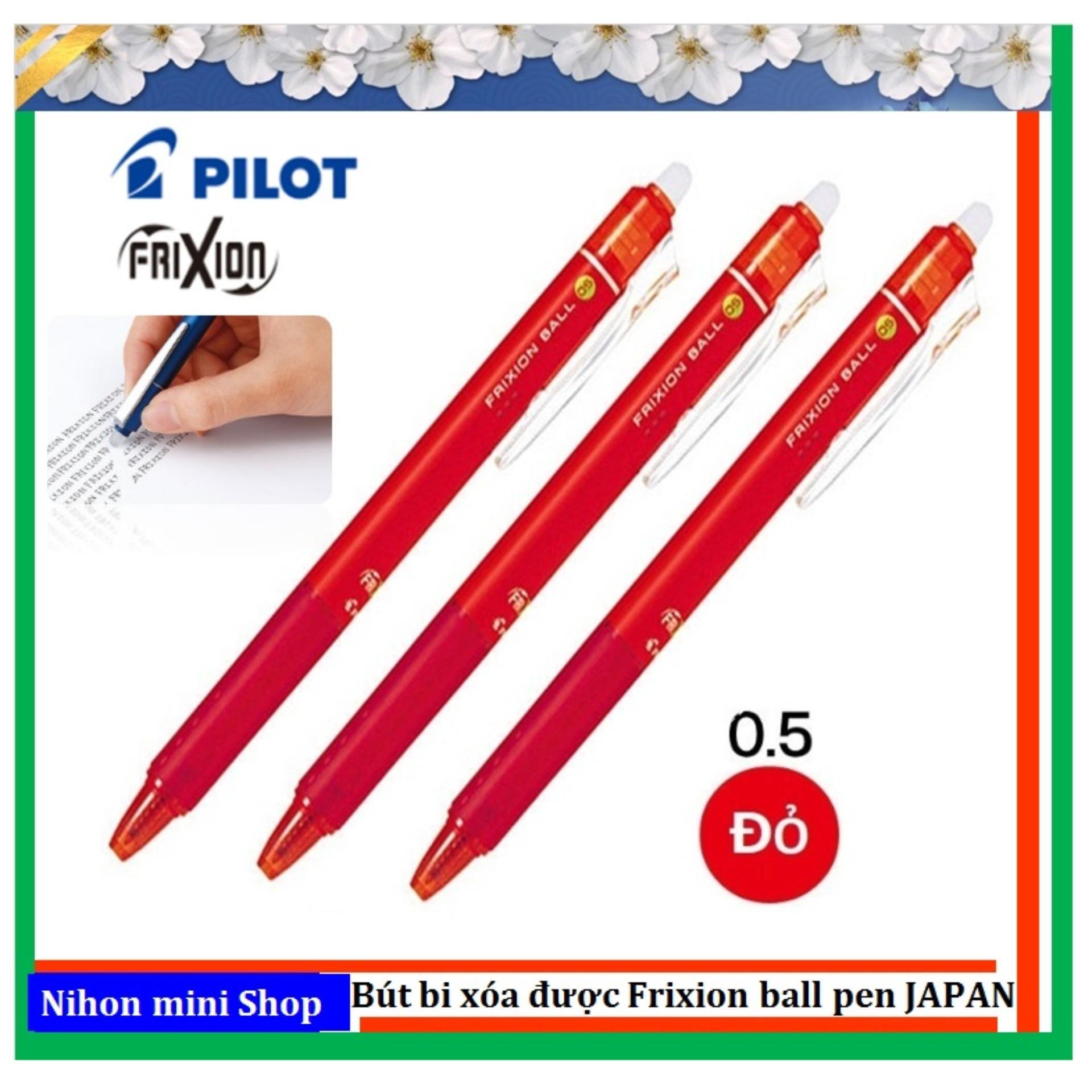 3 Bút bi xóa được Frixion ball 0.5mm (Japan) Đỏ