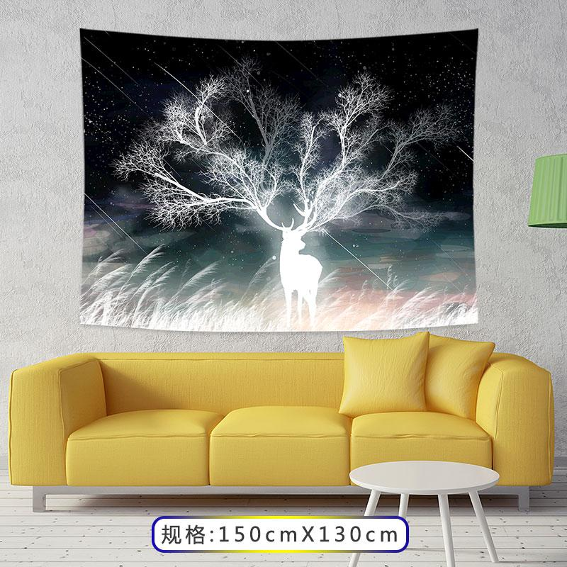 Background Cloth Dormitory Transformation INS Cloth Tapestry Decorative Cloth Online Celebrity Wall Bedside Background Paintings Wall Cloth
