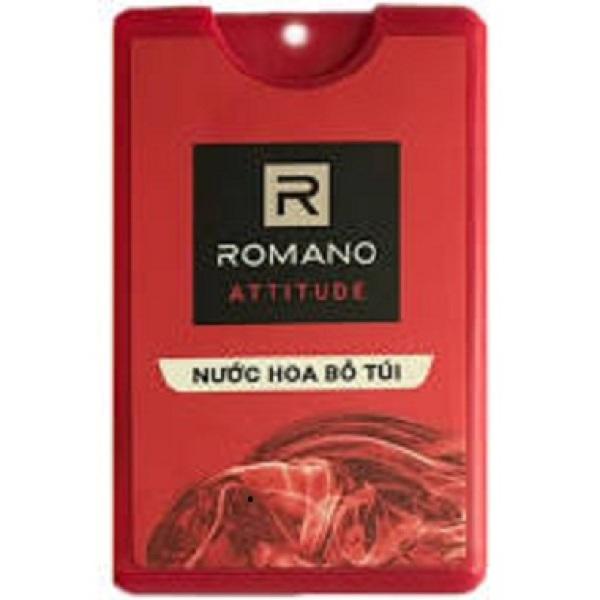 Nước hoa bỏ túi Romano attitude 18ml ( hàng tặng)