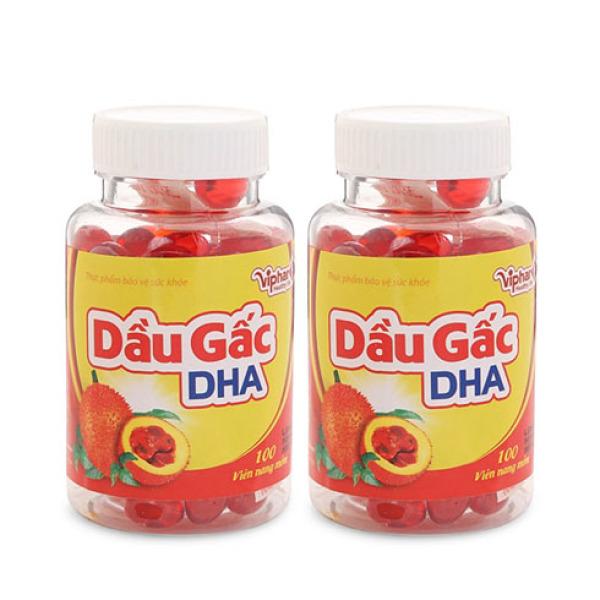 Viên uống dầu gấc DHA Vinaphar Hộp 100 viên