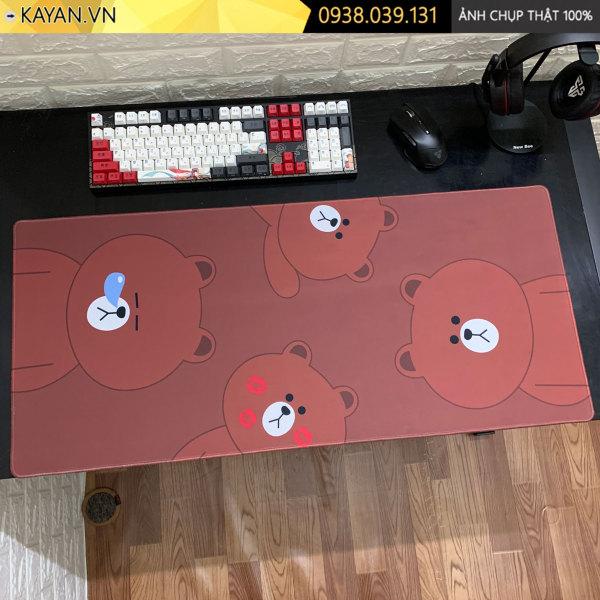 Bảng giá [80x30x0.3 - Nhiều mẫu] Lót chuột, bàn di chuột cute dễ thương Phong Vũ