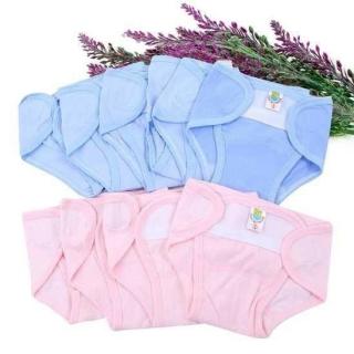 Quần đóng bỉm sơ sinh chất liệu cotton dễ chịu cho bé (3-8kg) thumbnail