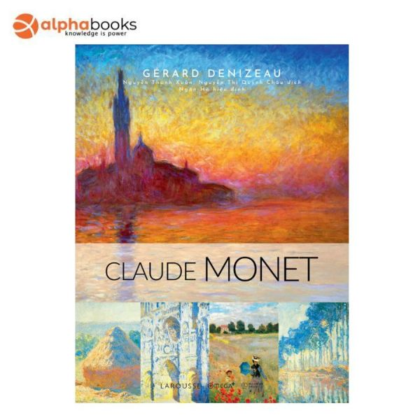 Mua Sách Alphabooks - CLAUDE MONET