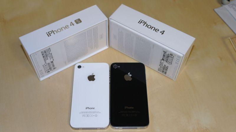 Điện thoại iphone 4 Qte chính hãng 32/16gb - tặng kèm dây sạc