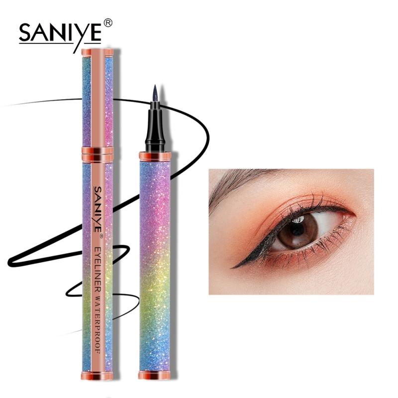 SANIYE Bút kẻ mắt dạng lỏng, sang trọng, không thấm nước, lâu trôi M404 - INTL