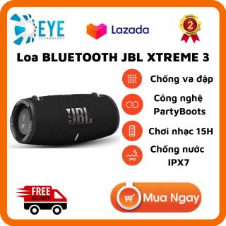[Flash Sale 50%] Loa Bluetooth JBL Xtreme 3 - Loa Nghe Nhạc, Karaoke Công Suất Lớn 40W - Loa Bass Mạnh, Treble Rời - Tương Thích Với Máy Tính, Vi Tính, LapTop, PC - Chống Nước, Chống Bụi IP67 -Thời gian phát nhạc lên tới 15H thumbnail