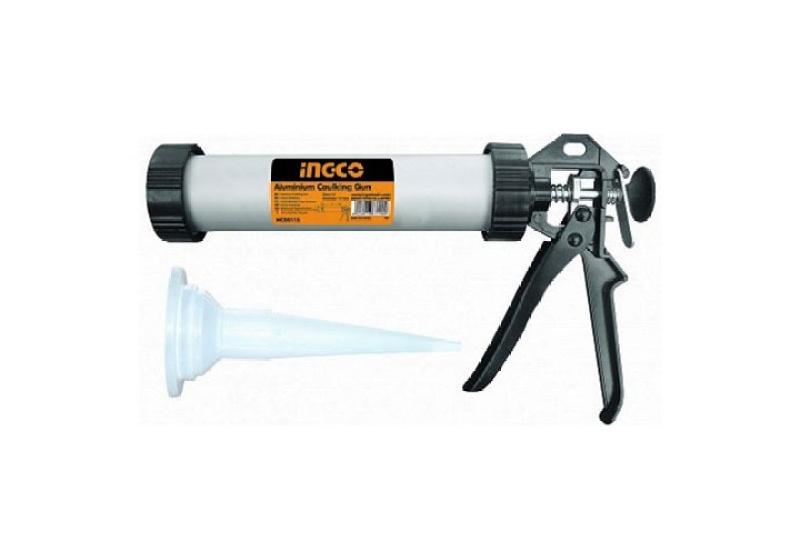 dụng cụbơm silicon ống nhôm ingco HCG0115